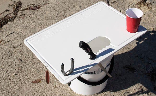 5 Gallon Bucket Top Cutting Board Table